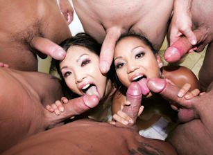 Asian Fuck Faces  #02