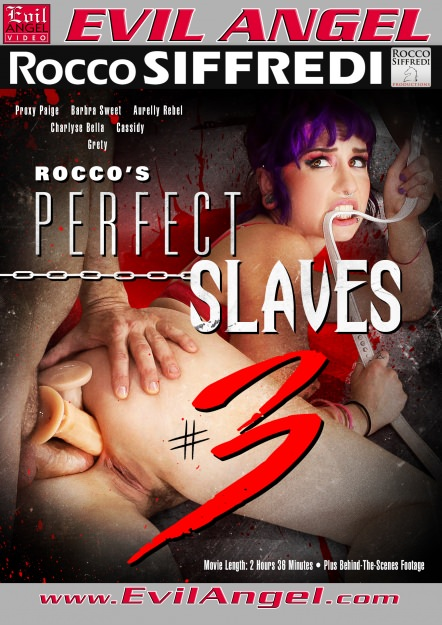 Rocco's Perfect Slaves #03 DVD Cover
