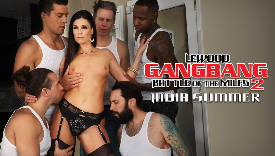 LeWood.com MILF Next-Door India's DP Gang Bang
