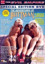 Adventures Of Buttman Dvd Cover