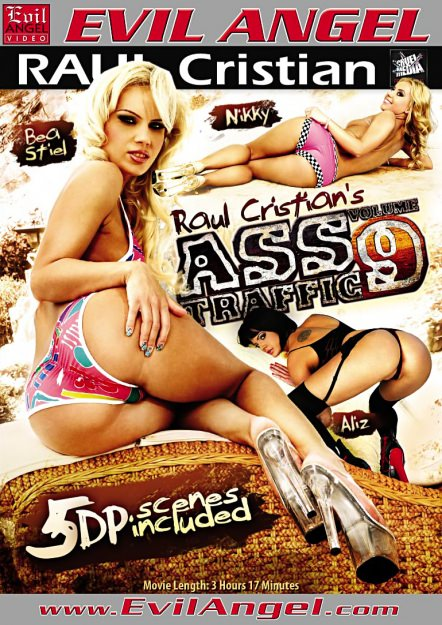 Ass Traffic #09 DVD Cover