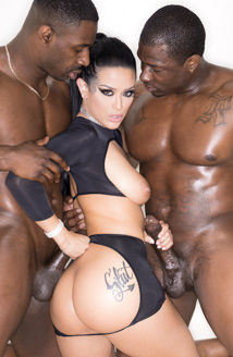 Katrina's Interracial Anal Threesome